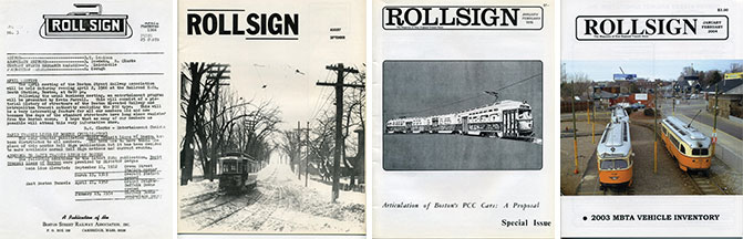 From left to right: Volume 3, Number 3, March 1966; Vol. 5, No. 8-9, Aug./Sep. 1968; Vol. 13, No. 1-2, Jan./Feb. 1976; and Vol. 41, No. 1-2, Jan./Feb. 2004 (First color cover).